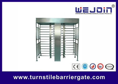 Full Height Access Control Turnstile Gate for IC , ID , magcard ,bar code