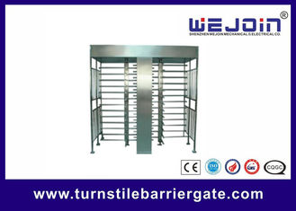 Stainless Steel Full Height Access Control Turnstile Gate CE Approved