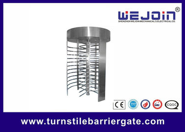 High Speed Full Height Access Control Turnstile Gate With Emergency - scape