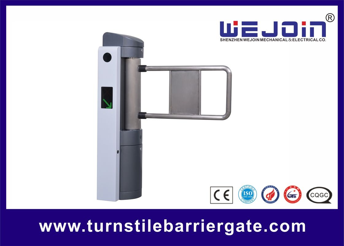 Automatic Access Control Single Pole Automatic Swing Barrier , Pedestrian Access Control Gates サプライヤー
