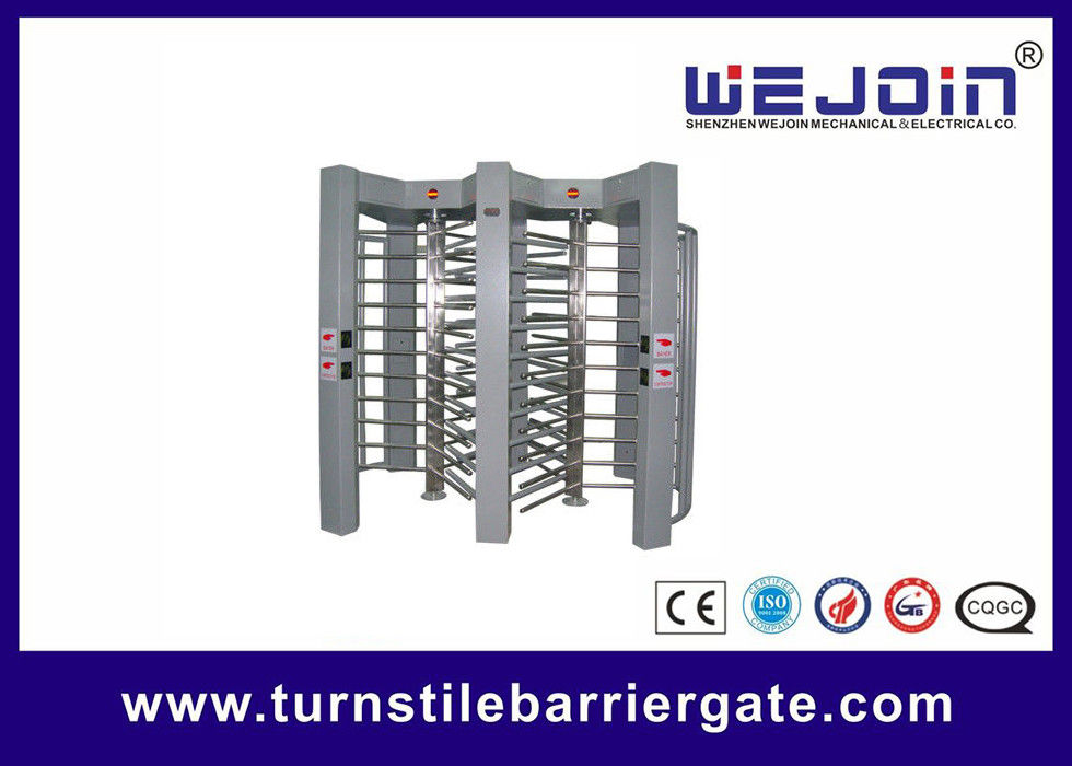 double routeway  stainless turnstile gates , full height turnstile ,  office building gate security gates , manufacture サプライヤー