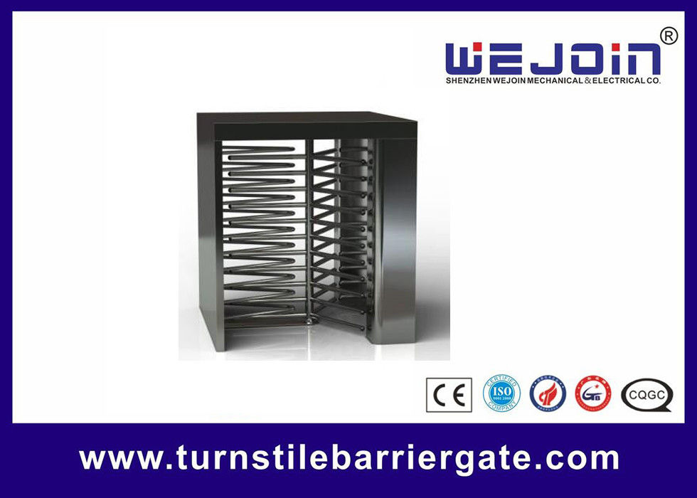 Swipe Card Full height Access Control Turnstile Gate Safety System 50HZ / 60HZ サプライヤー