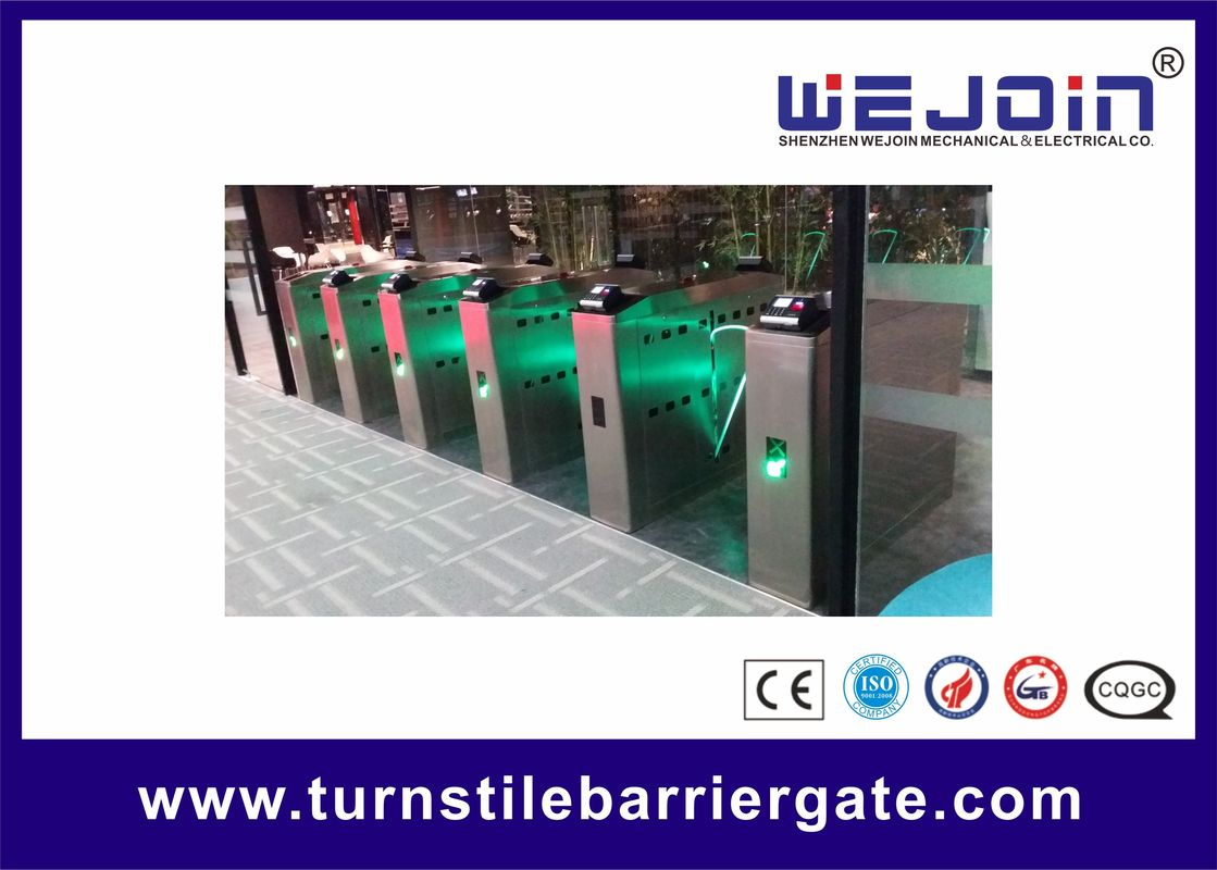 Pop Full-Automatic Flap Barrier Used In Subway And Bus Station With lighten Wing サプライヤー