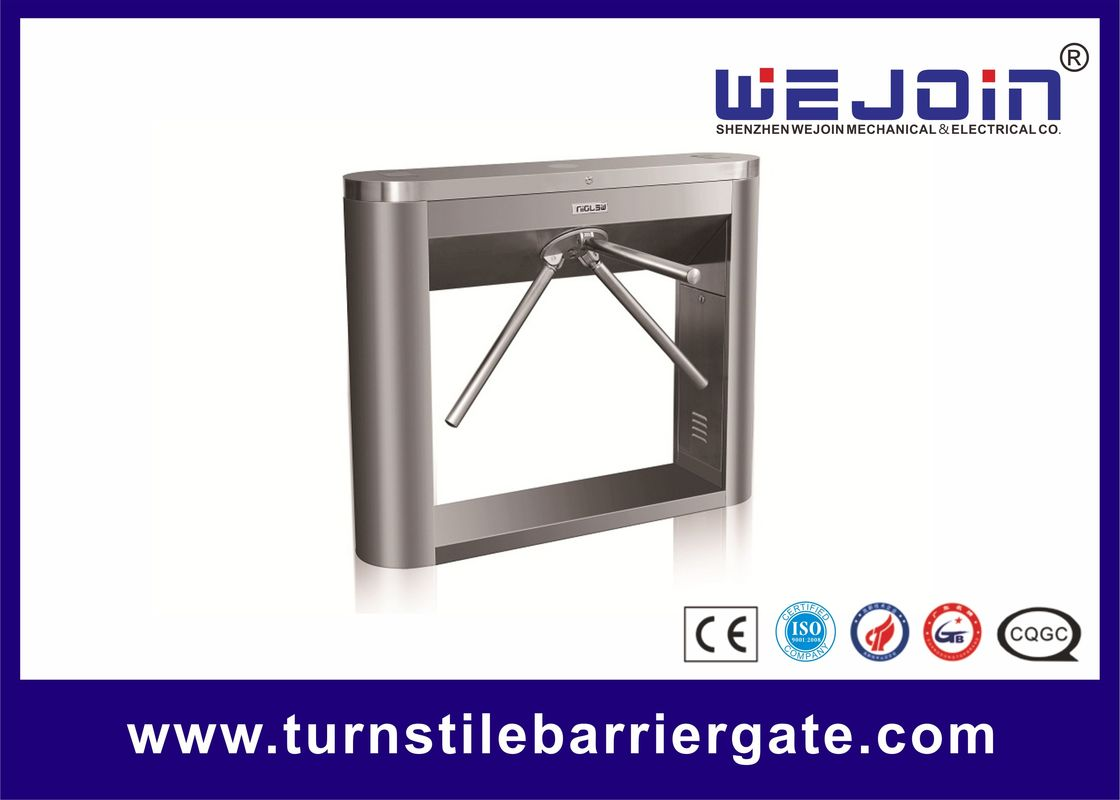 Access Control Tripod Turnstile Gate Semi Automatic Barrier Security Tripod Type