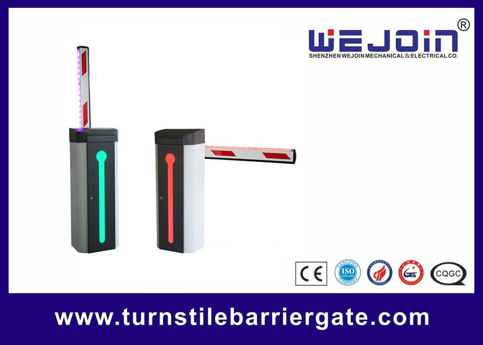 Road Safety Boom Barrier Gate Access Controller Durable With Loop Detector