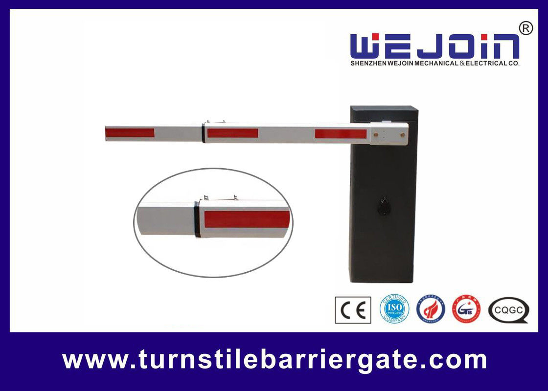 Car Park Electronic Barrier Gates Aluminum Alloy Motor Straight Folding Fencing Boom