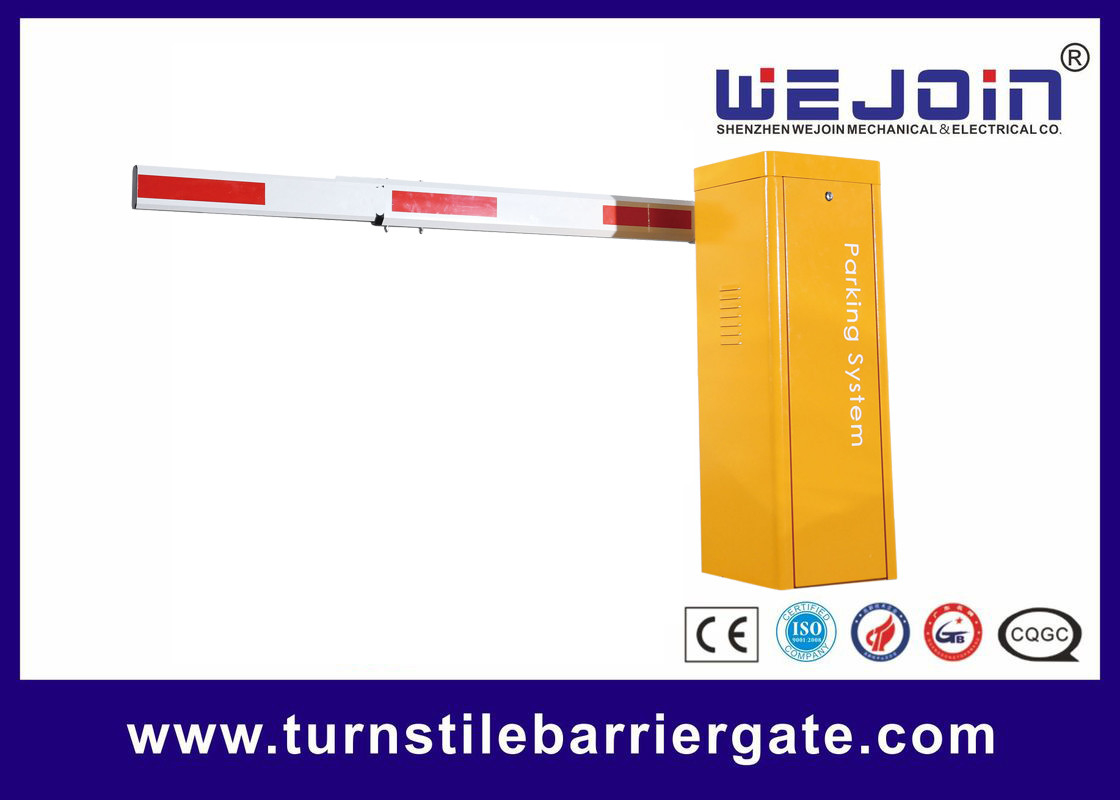 Economic Parking Barrier Gate , Manual Release Security Entrance Gate