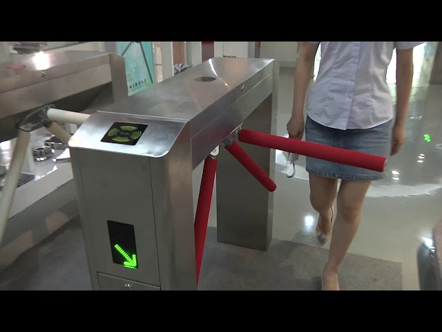 Swipe Card Full height Access Control Turnstile Gate Safety System 50HZ / 60HZ